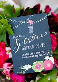 Garden Party Invites Summer Solstice Party How To Host An Elegant Soiree