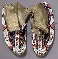 beadwork sioux lakota sioux beaded hide moccasins 1357197