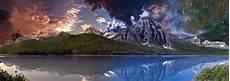 panorama nature 4k wallpaper mountains lake sky 183 free photo on pixabay