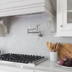 sacks kitchen backsplash white and gray kitchen with chevron counter stools