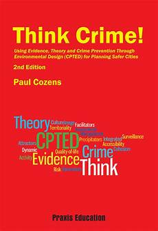 Crime Poster Design Think Crime Cpted For Safer Cities 2nd Edition