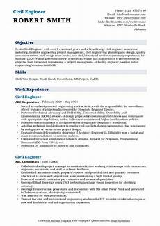Civil Engineering Sample Resume Civil Engineer Resume Samples Qwikresume