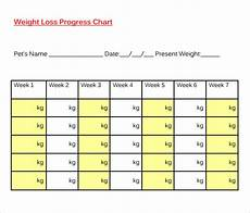 Weight Loss Chart Template Free 8 Sample Weight Loss Chart Templates In Pdf Ms Excel
