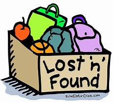 Lost And Found Sign Lost And Found Box