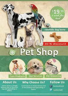 Pet Flyer Pet Shop Psd Flyer Flyer Templates On Creative Market