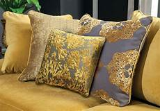 viscontti sofa loveseat nailhead gold yellow