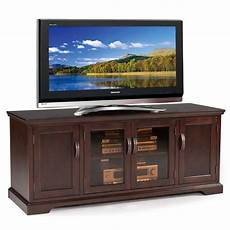 leick westwood cherry hardwood tv stand 60
