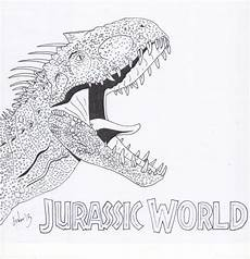 indominus rex dinosaur coloring pages dinosaur coloring