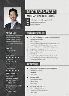 Check My Cv Online Free Free Mechanic Resume Engineering Resume Templates Job