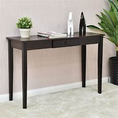 giantex console table entry hallway desk entryway side