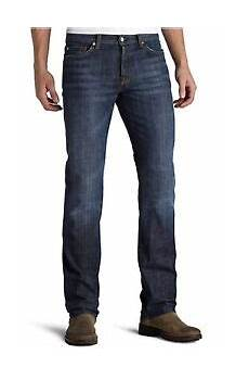 7 For All Mankind Men S Jeans Size Chart 7 For All Mankind Men S Standard Classic Straight Leg