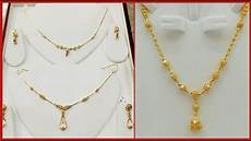 Chain Design Pattern In Gold For Ladies Beautiful Daily Wear Gold Chain Necklace Designs Youtube