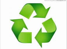 Green recycling symbols   PSDGraphics