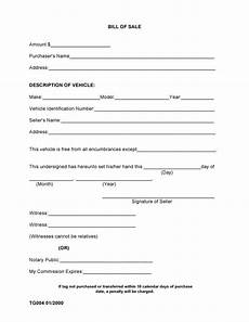 Bill Of Sale With Notary Free County Alabama Bill Of Sale Form Pdf Docx
