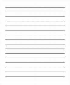 Blank Line Paper 26 Sample Lined Paper Templates Free Amp Premium Templates