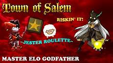 Town Of Salem Elo Chart Obvious Scum Town Of Salem Master Elo Godfather Youtube