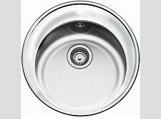Teka Centroval 45 Stainless Steel 1.0 Bowl Round Inset Sink   CTK1048
