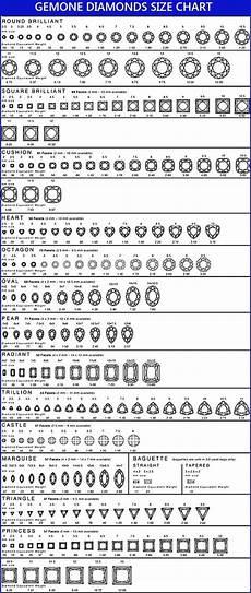 Silver Karat Chart Chart Diamond Sizes Mm To Ct Dazzling Jewellers