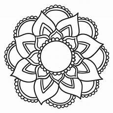 desenho mandalas mandala floral 14 mona