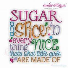 Sugar And Vice Designs Sugar And Spice N Everything Nice That S What Little