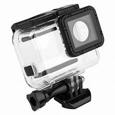 gopro 5 sleeve 40m waterproof housing with touch screen backdoor