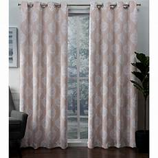 Curtain Images Exclusive Home Curtains 2 Pack Medallion Blackout Grommet