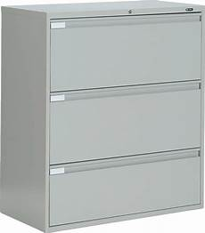 metal 3 drawer lateral file cabinet office furniture ebay
