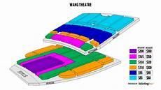 Wang Center Boston Seating Chart Boston Boch Center Wang Theatre Seating Chart Throughout