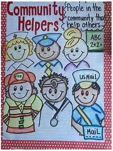 Our Helpers Chart My Community Helpers Anchor Chart Community Helpers