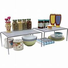 decobros expandable stackable kitchen cabinet and counter