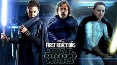 wars episode 9 reactions revealed leaked