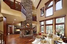 High Ceiling Living Room 100 Fireplace Design Ideas For A Warm Home During Winter