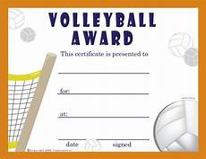 Volleyball Certificate Templates Free Volleyball Certificates 0 00 Sports Pinterest