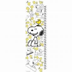 Peanuts Growth Chart Peanuts Woodstock And Snoopy By Charles M Schulz Canvas