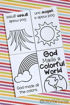 Sunday School Printables Free Printable Book For Teaching Colors Preschool Bible