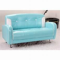 blue mini mustang retro sofa sofa retro sofa