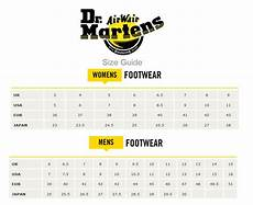 Dr Brown Size Chart Dr Doc Martens Various 1460 Womens Amp Mens Boots