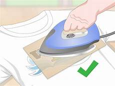 Transfer Apply How To Apply Heat Transfer Vinyl With Pictures Wikihow