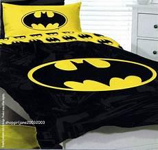 batman yellow logo dc comics bed quilt doona