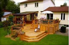 Two Level Deck Designs Like The Two Levels But I Would Do A Pergola In 2019