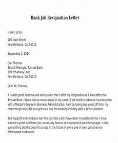 Bank Resignation Letter 31 Resignation Letter Format Pdf Doc Ipage Free
