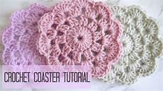 crochet how to crochet a coaster coco