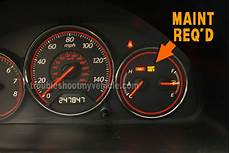 2005 Acura Rsx Maintenance Required Light How To Reset The Maintenance Required Light 2001 2005 1