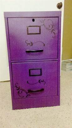 scrumptious purple filing cabinet purple decor purple