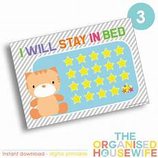 Stay In Bed Chart Printable I Will Stay In Bed Reward Chart Design 3 The Organised