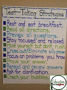 Testing Strategies Anchor Chart 17 Best Images About Pssa Incentives On Pinterest Anchor