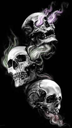 3 Skull Designs Three Skulls The Bone Yard Pinterest Skulls