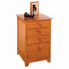 winsome 2 drawer vertical wooden file cabinet honey