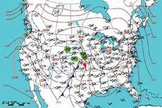 Surface Analysis Chart Depicts Weather Services Observations And Forecasts Learn To