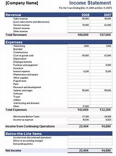 Small Business Financial Statements Examples 5 Free Income Statement Examples And Templates